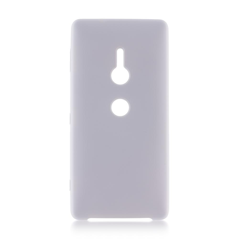 Аксессуар Чехол Brosco для Sony Xperia XZ2 Gray XZ2-SOFTRUBBER-GREY чехол для сотового телефона brosco colourful для sony xz2 xz2 colourful green зеленый