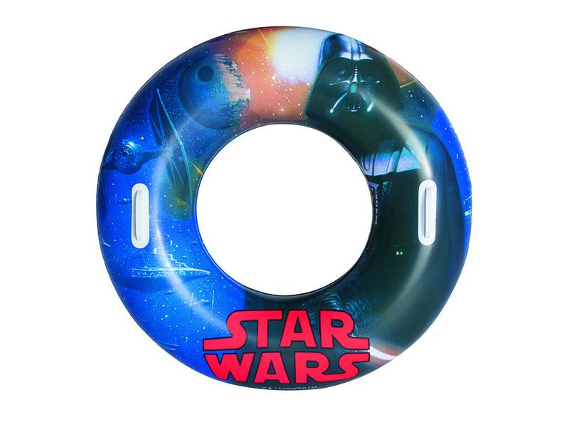 Надувной круг Круг для плавания BestWay Star Wars 91203 круг для плавания swim ring 51см от 3лет