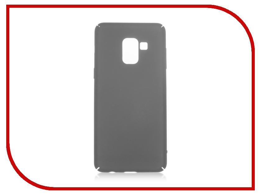 Аксессуар Чехол для Samsung Galaxy A8 BROSCO Black SS-A8-4SIDE-ST-BLACK аксессуар чехол huawei p9 brosco softtouch 4side black hw p9 4side st black