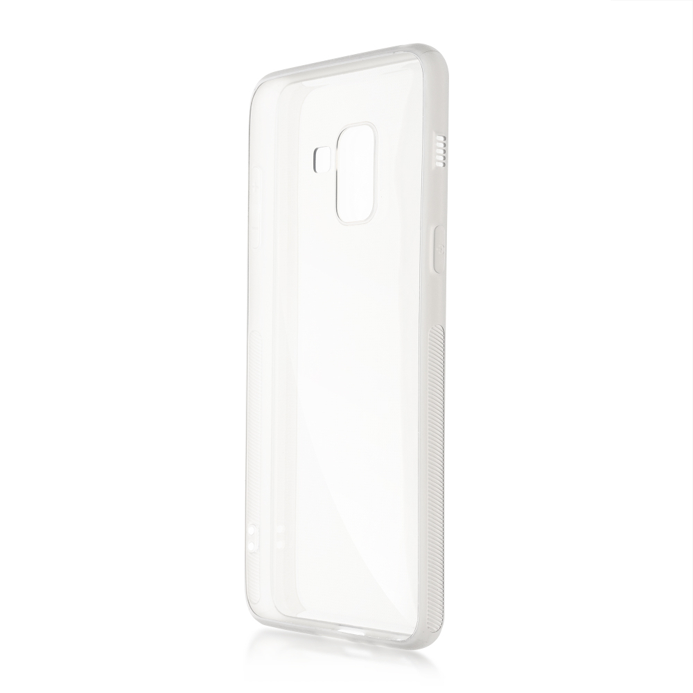 Чехол Brosco для Samsung Galaxy A8 Silicone Transparent SS-A8-TPU-TRANSPARENT