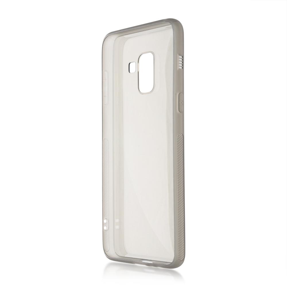 Чехол Brosco для Samsung Galaxy A8 Silicone Black SS-A8-TPU-BLACK