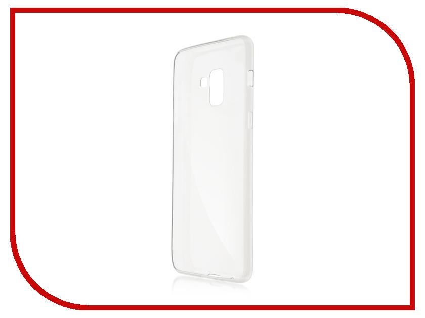 Аксессуар Чехол для Samsung Galaxy A8 Plus BROSCO Transparent SS-A8P-TPU-TRANSPARENT