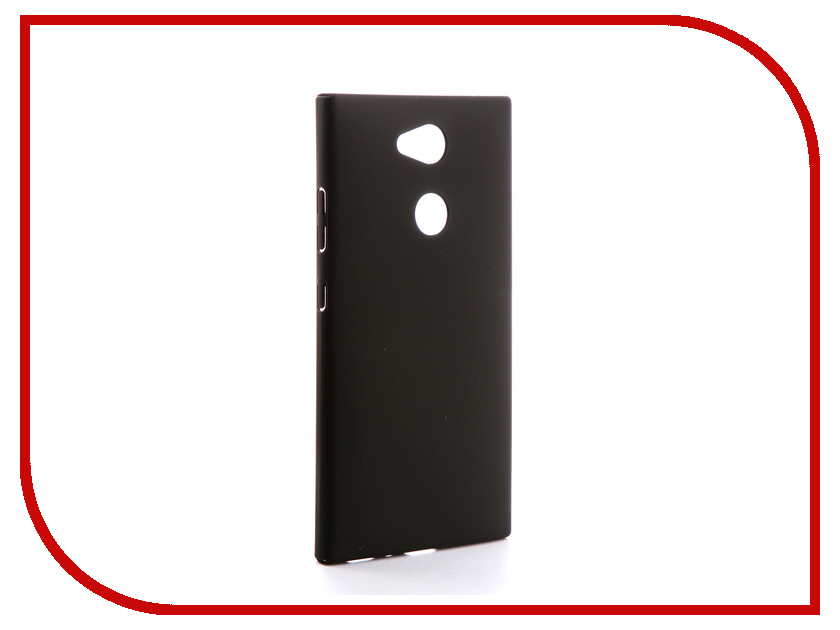 Аксессуар Чехол для Sony Xperia L2 BROSCO Black L2-4SIDE-ST-BLACK