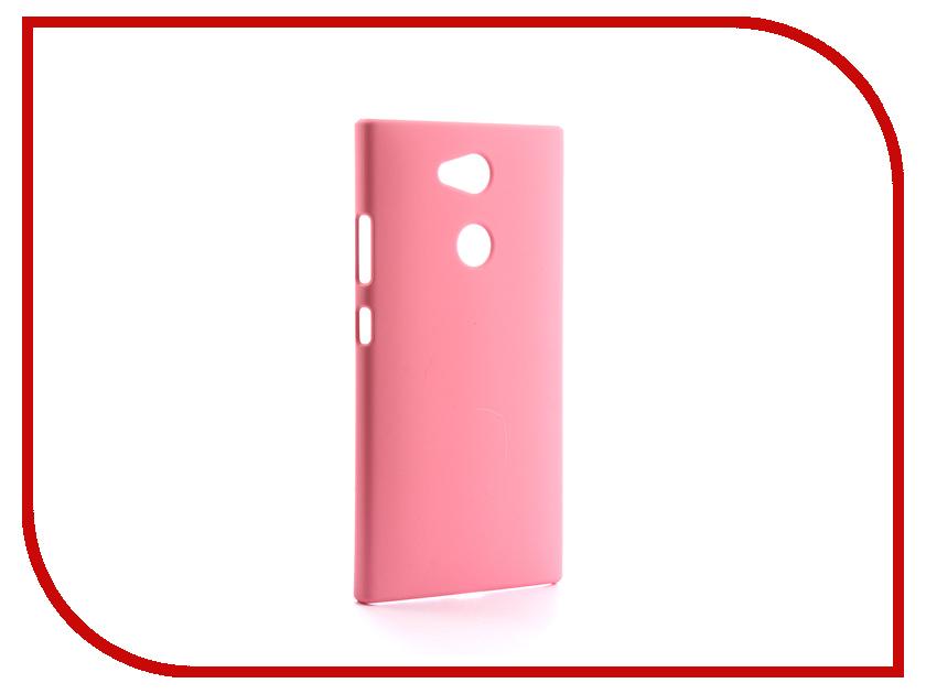 Аксессуар Чехол Sony Xperia L2 BROSCO Pink L2-4SIDE-ST-PINK аксессуар чехол sony xperia xa1 ultra brosco pink xa1u 4side st pink