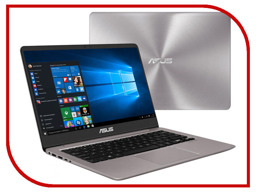 Ноутбук ASUS Zenbook UX410UA-GV422R 90NB0DL3-M10660 (Intel Core i5-8250U 1.6 GHz/8192Mb/256Gb SSD/No ODD/Intel HD Graphics/Wi-Fi/Bluetooth/Cam/14.0/1920x1080/Windows 10 64-bit) адаптер wi fi upvel ua 371ac arctic white ua 371ac arctic white