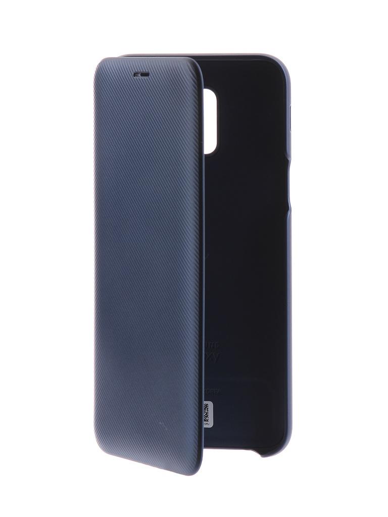 Аксессуар Чехол-книжка для Samsung Galaxy A6 2018 Wallet Cover Blue EF-WA600CLEGRU стоимость