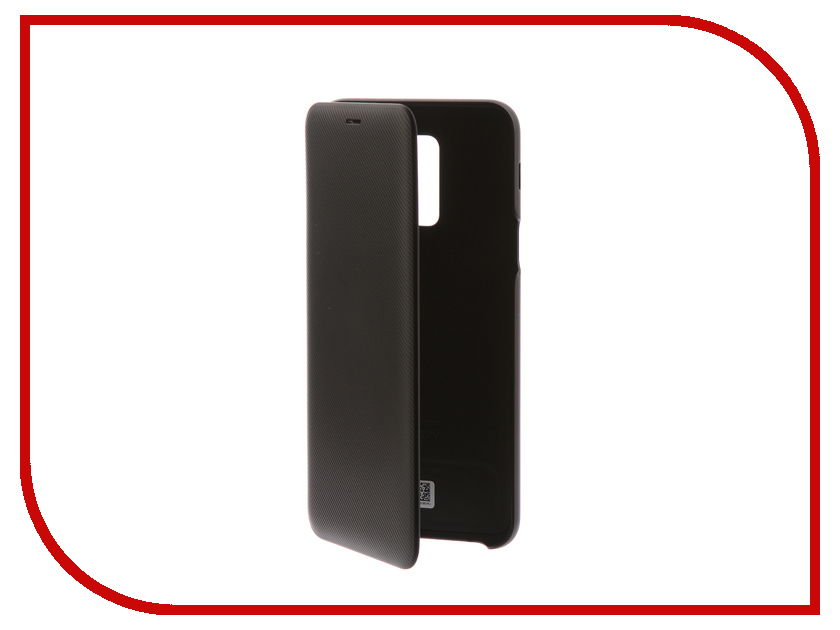 Аксессуар Чехол-книжка для Samsung Galaxy A6 Plus 2018 Wallet Cover Black EF-WA605CBEGRU аксессуар чехол книжка samsung galaxy a6 plus 2018 wallet cover gold ef wa605cfegru