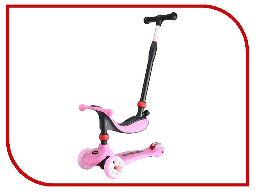 Самокат Larsen Mini 3в1 Pink цена