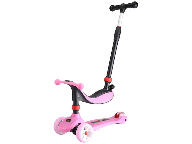 Самокат Larsen Mini 3в1 Pink цена и фото