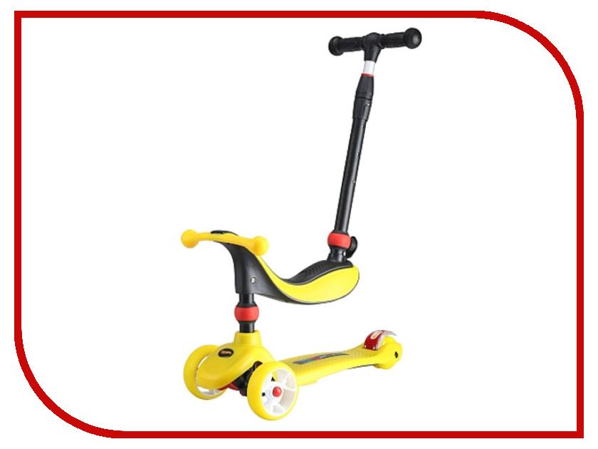 Самокат Larsen Mini 3в1 Yellow цена