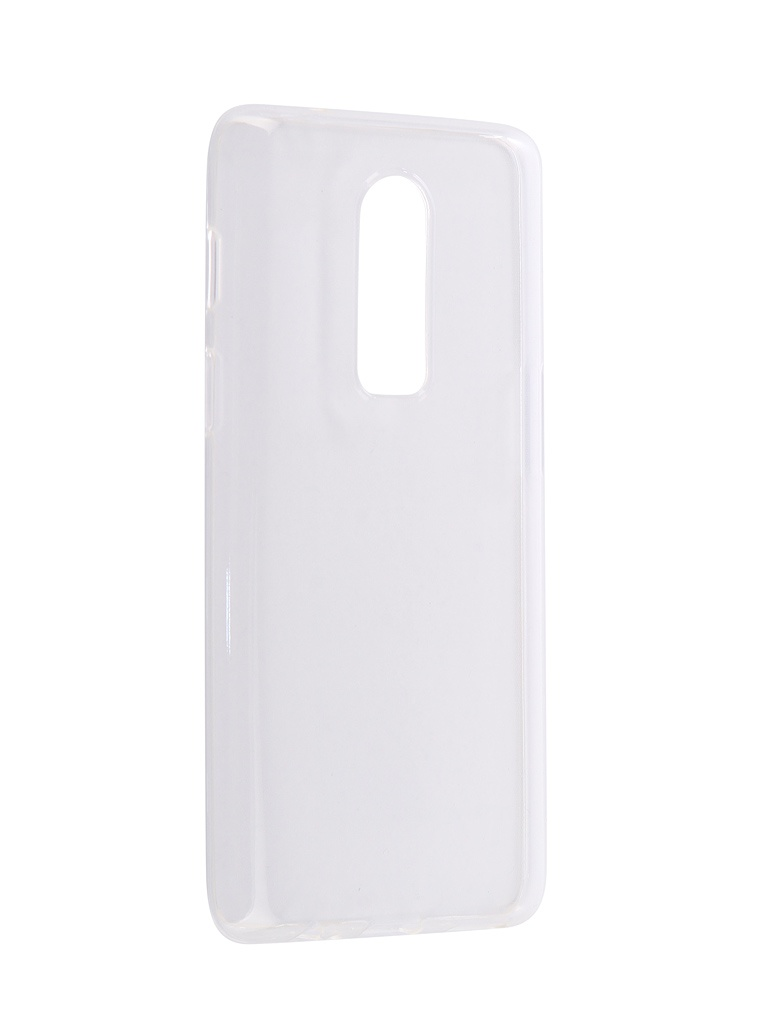 Чехол Brosco для OnePlus 6 Silicone Transparent ONEPLUS-6-TPU-TRANSPARENT
