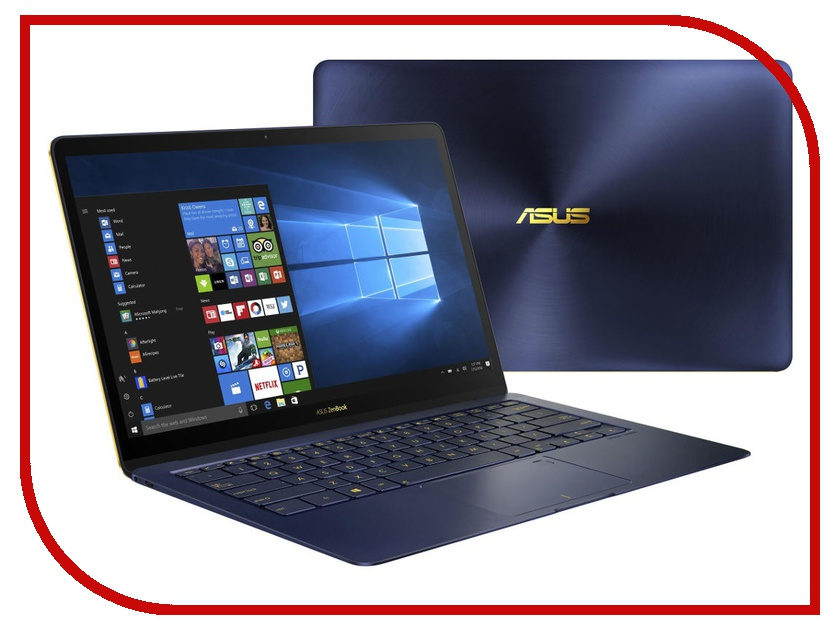 Ноутбук ASUS Zenbook 3 Deluxe UX490UAR-BE094R 90NB0EI1-M07650 (Intel Core i5-8250U 1.6 GHz/8192Mb/256Gb SSD/No ODD/Intel HD Graphics/Wi-Fi/Bluetooth/Cam/14.0/1920x1080/Windows 10 64-bit) ноутбук dell xps 13 9365 4429 intel core i5 7y54 1 2 ghz 8192mb 256gb ssd no odd intel hd graphics wi fi bluetooth cam 13 3 3200x1800 touchscreen windows 10 64 bit
