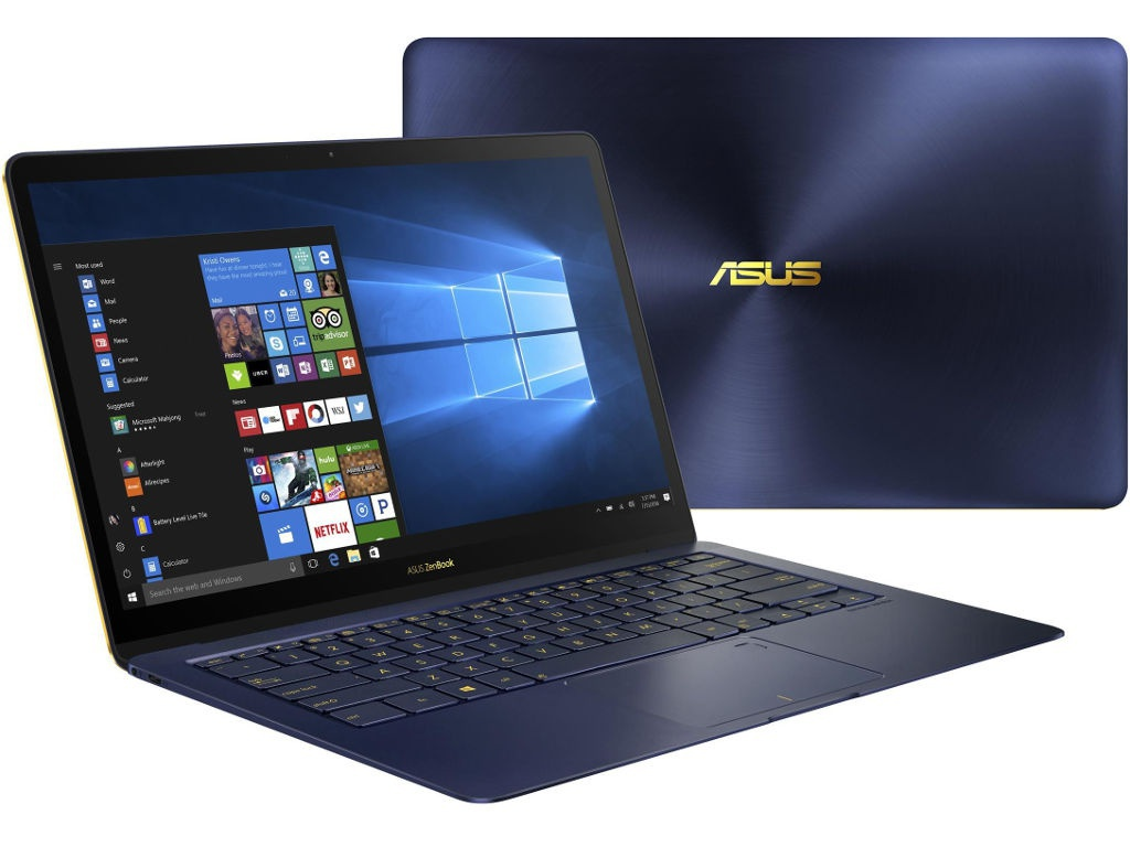 Ноутбук ASUS Zenbook 3 Deluxe UX490UAR-BE094R 90NB0EI1-M07650 (Intel Core i5-8250U 1.6 GHz/8192Mb/256Gb SSD/No ODD/Intel HD Graphics/Wi-Fi/Bluetooth/Cam/14.0/1920x1080/Windows 10 64-bit)