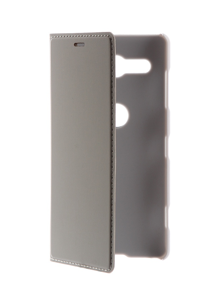 Аксессуар Чехол-книжка Brosco для Sony Xperia XZ2 Compact Grey XZ2C-BOOK-GREY аксессуар чехол для sony xperia xz2 compact brosco transparent xz2c tpu transparent
