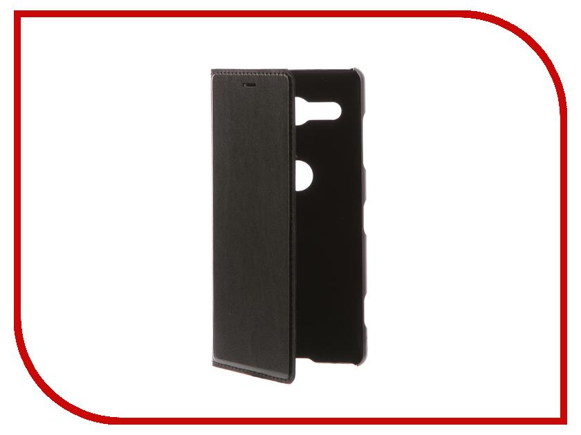 Фото - Аксессуар Чехол-книжка для Sony Xperia XZ2 Compact BROSCO Black XZ2C-BOOK-BLACK micro camera compact telephoto camera bag black olive