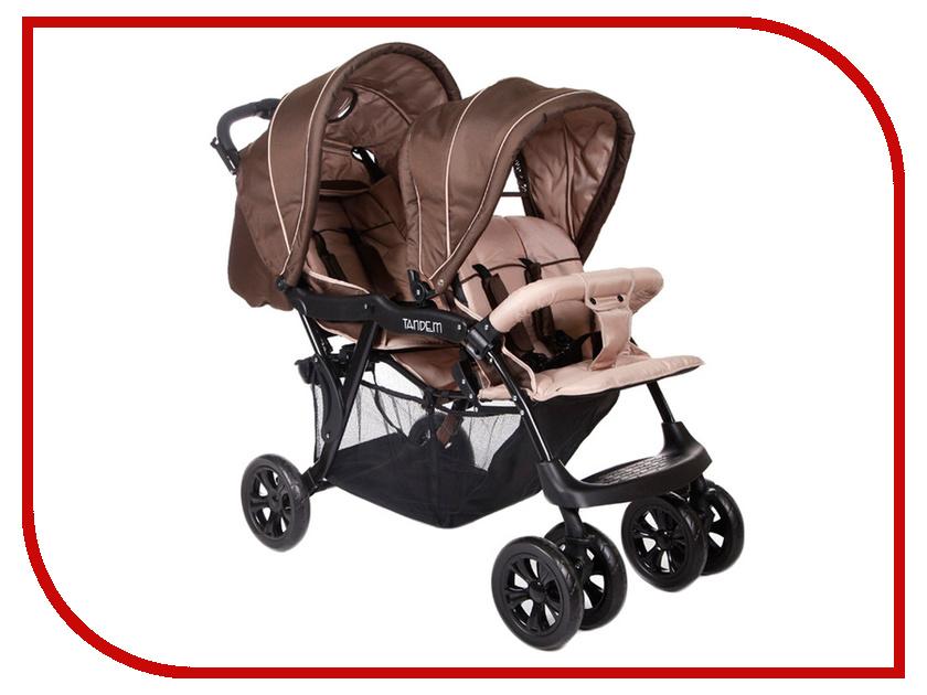 Коляска Baby Care Tandem Brown/Grey
