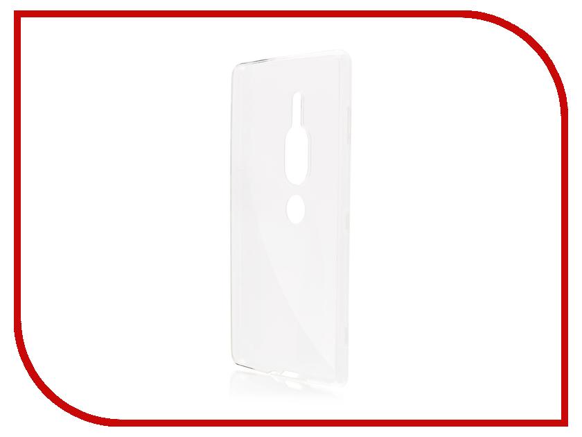 Аксессуар Чехол Sony Xperia XZ2 Premium BROSCO Silicone Transparent XZ2P-TPU-TRANSPARENT аксессуар чехол sony xperia xa1 ultra brosco silicone transparent xa1u hard tpu transparent