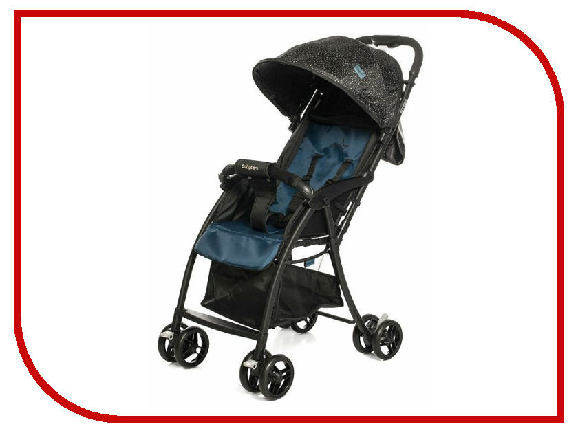 Коляска Baby Care Star BC006 Blue baby care bc 322lux слоник orange