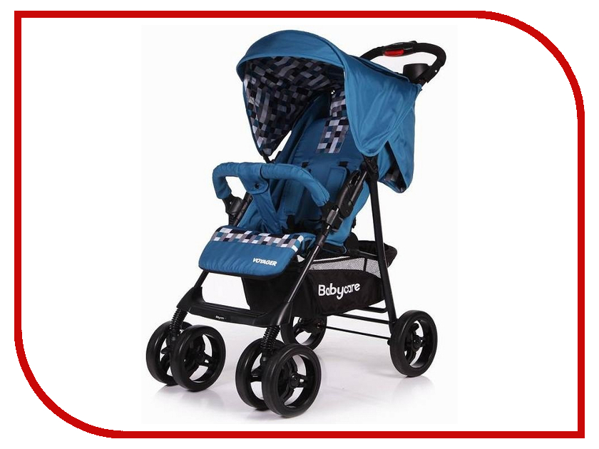 Коляска Baby Care Voyager Blue коляска baby care premier pink