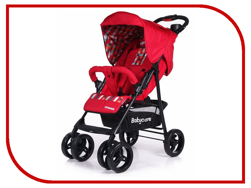 Коляска Baby Care Voyager Red коляска baby care premier pink