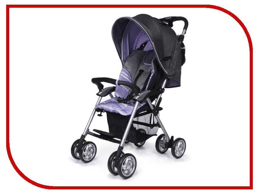 Коляска Jetem Elegant Grey Purpl коляска трость jetem elegant dark grey blue полоска