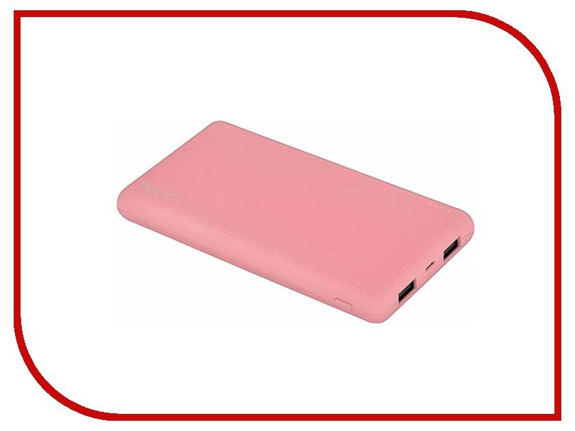 Аккумулятор Recci Dynamic 10000mAh Pink