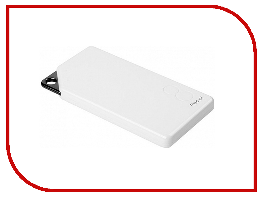 Аккумулятор Recci Power Bank Gallop RG-8000 8000mAh White аккумулятор mango device mp 8000wt 8000mah white 16324