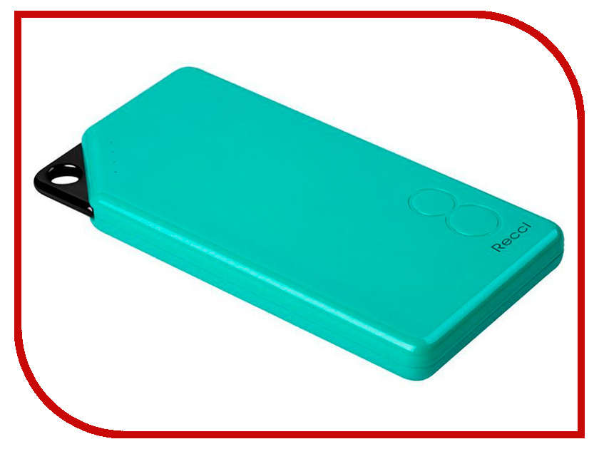 Аккумулятор Recci Power Bank Gallop RG-8000 8000mAh Green колонка recci bluetooth travel rbs d1 green