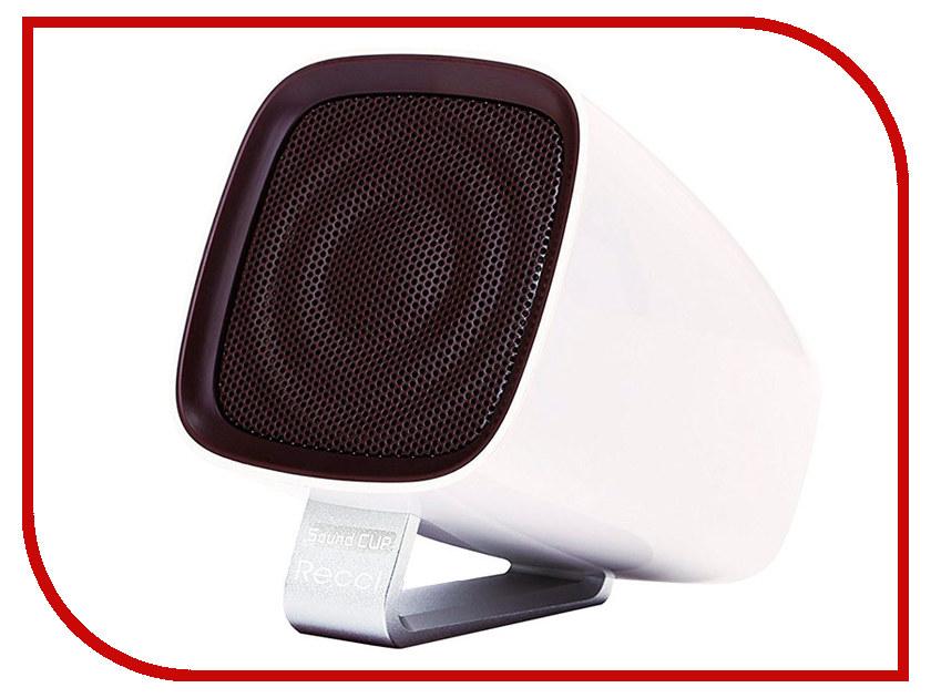 Колонка Recci Bluetooth Sound Cup RBS-B1 White турка apollo rbs 35 robusta