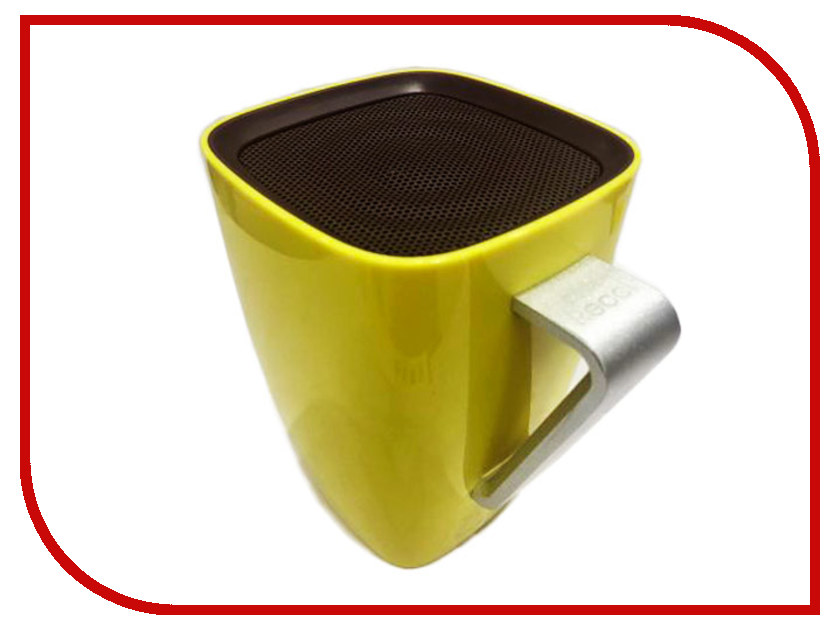 Фото Колонка Recci Bluetooth Sound Cup RBS-B1 Yellow ultra loud bicycle air horn truck siren sound 120db