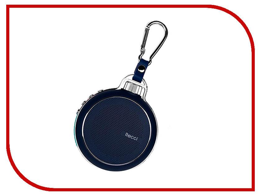 Колонка Recci Bluetooth Travel RBS-D1 Green турка apollo rbs 35 robusta
