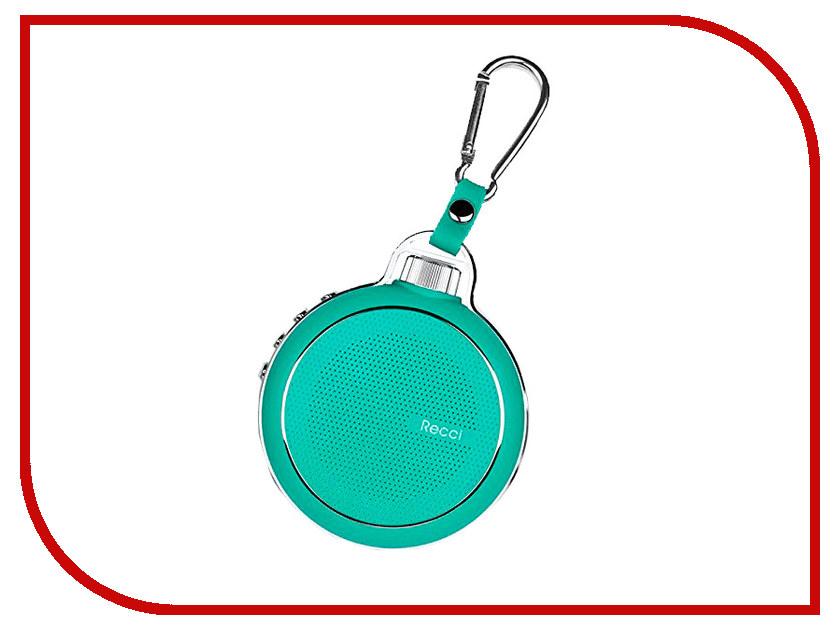 Колонка Recci Bluetooth Travel RBS-D1 Blue турка apollo rbs 35 robusta
