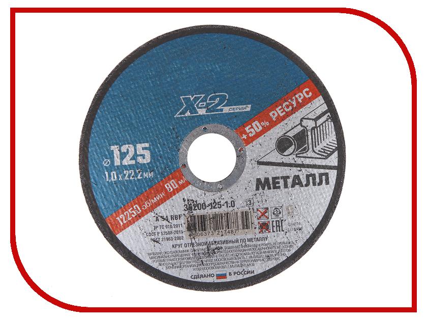 Диск Зубр отрезной по металлу 125х1.0х22.23мм 36200-125-1.0_z02