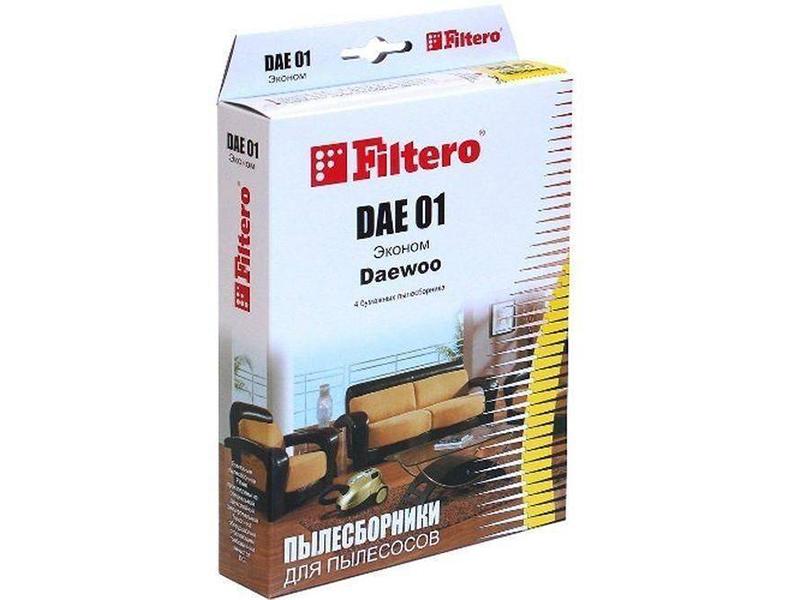 Мешок-пылесборник Filtero DAE 01 Эконом (4шт)