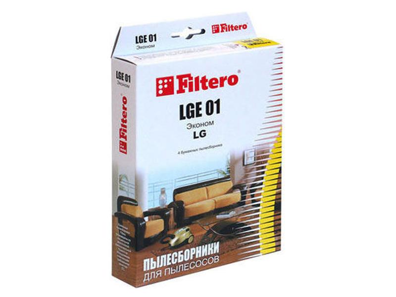 Мешок-пылесборник Filtero LGE 01 Эконом (4шт) цена