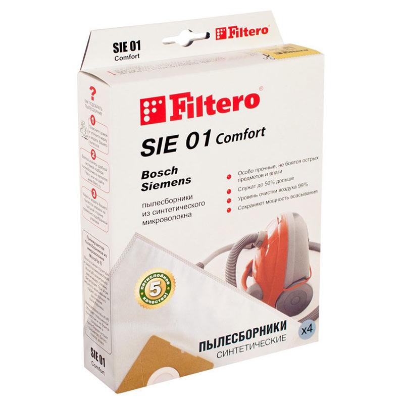 Мешок-пылесборник Filtero SIE 01 Comfort (4шт) цена 2017