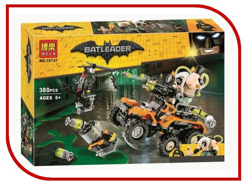 Конструктор Bela Batman Химическая атака Бэйна 10737