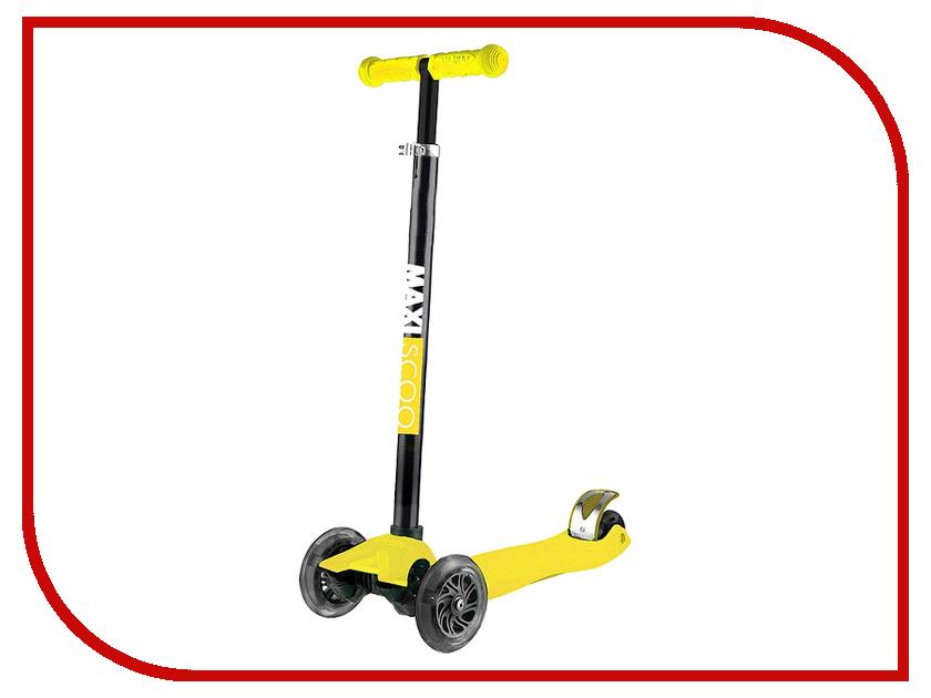 Самокат Maxiscoo Junior MSC-J101708 Yellow