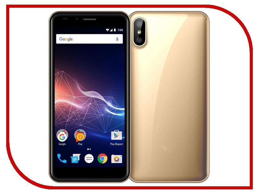 Сотовый телефон Vertex Impress Click Gold сотовый