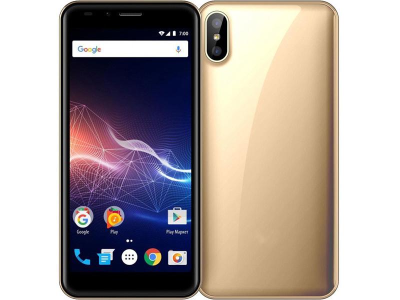 Сотовый телефон Vertex Impress Click Gold цена 2017