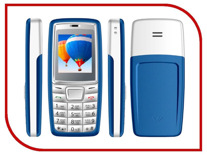 Сотовый телефон VERTEX M111 Blue Grey roland stika sv 8