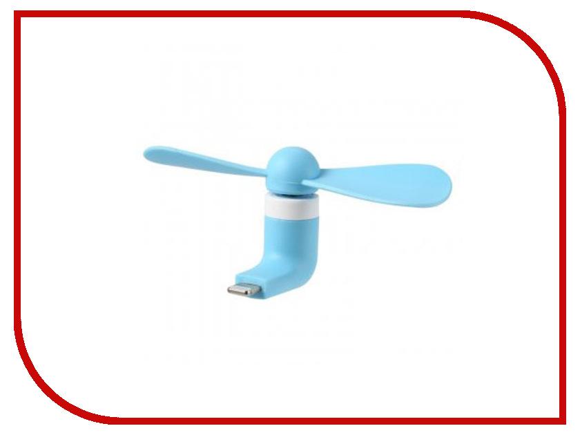 Вентилятор Remax F10 с microUSB Blue