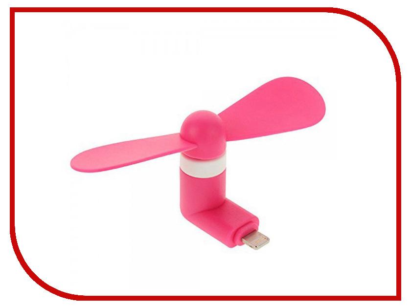 Вентилятор Remax F10 с microUSB Pink