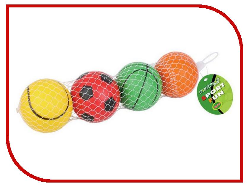 Игрушка F&N sport Набор мячей 4шт FN-PU0807-4 (416) fast shipping dc motor for treadmill model a17280m046 p n 243340 pn f 215392