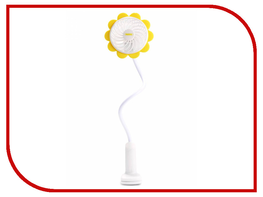 Вентилятор Remax F12 Clip Mini Fan Yellow