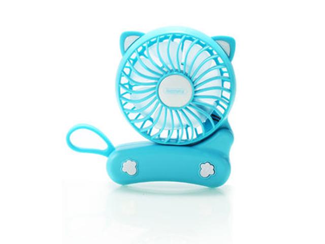 Вентилятор от USB Remax F14 Folded Mini Fan Blue