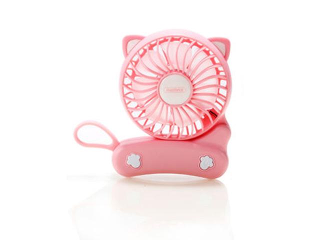 Вентилятор от USB Remax F14 Folded Mini Fan Pink