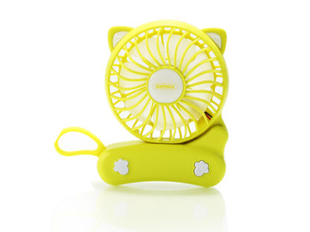Вентилятор от USB Remax F14 Folded Mini Fan Yellow