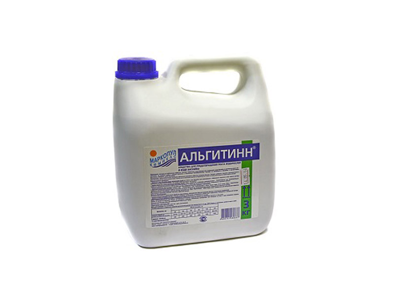 Жидкость для борьбы с водорослями Маркопул-Кемиклс Альгитинн 3л М06