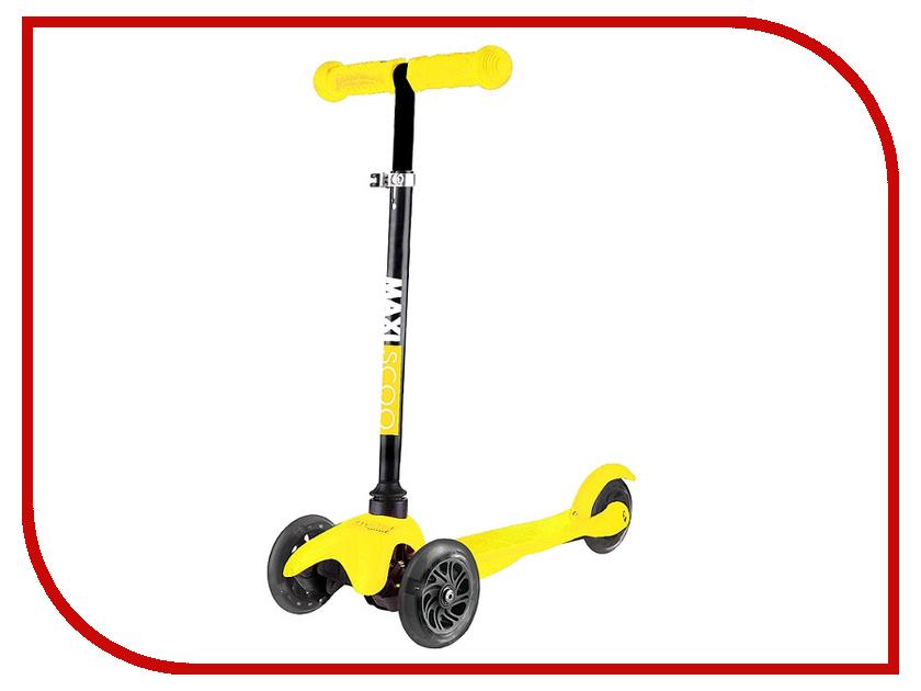 Самокат Maxiscoo Baby MSC-B101708 Yellow